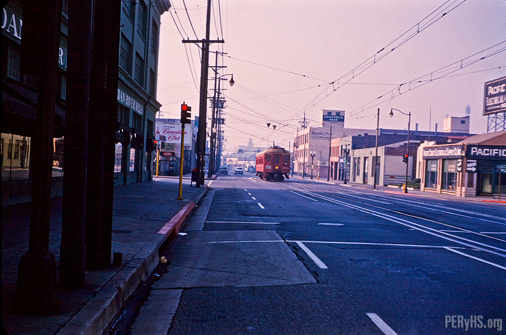 Traction Photograph of San Francisco Photo, Jack Finn Collection