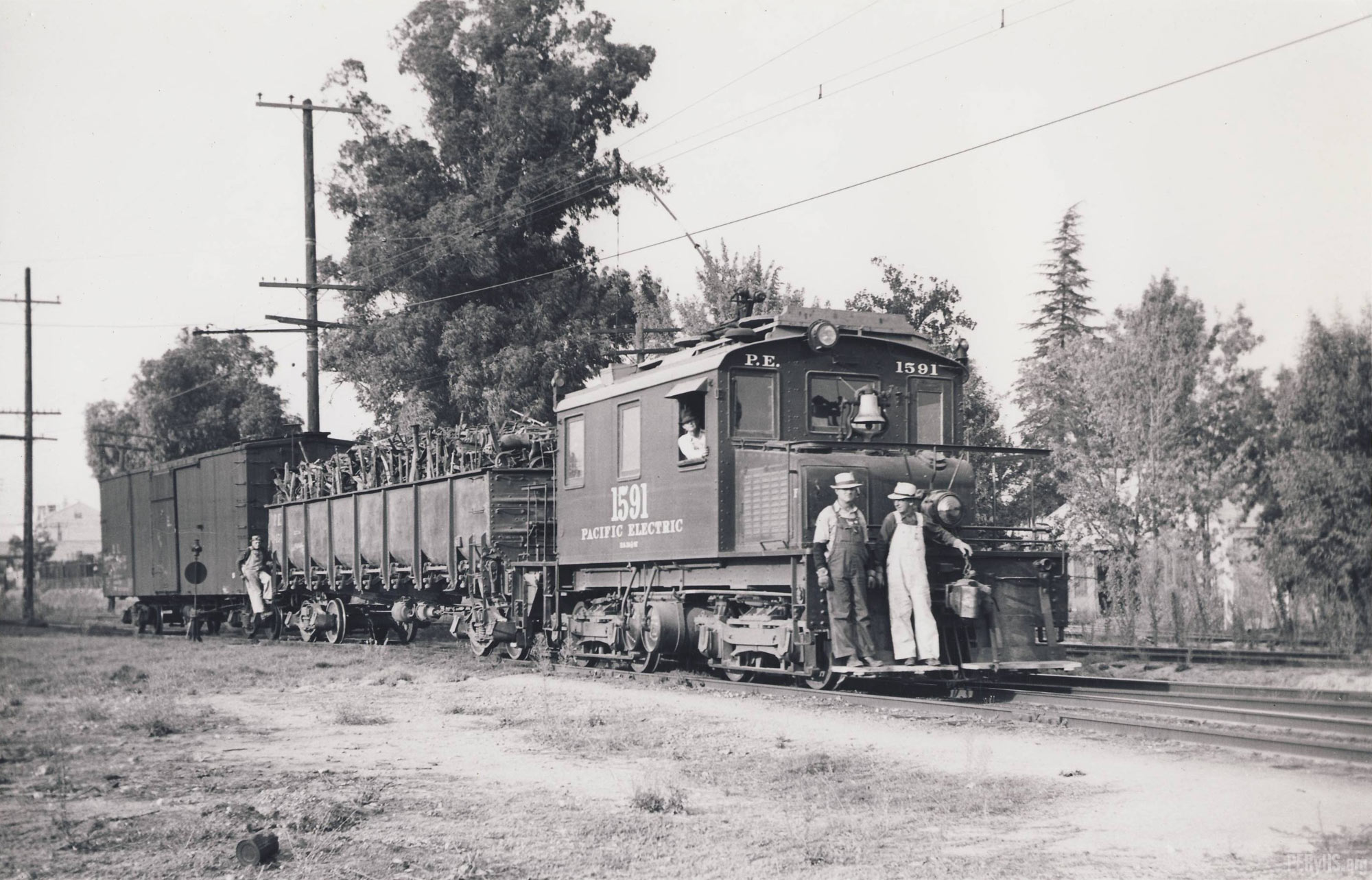 Jack Whitmeyer Photo, Mount Lowe Preservation Society Collection