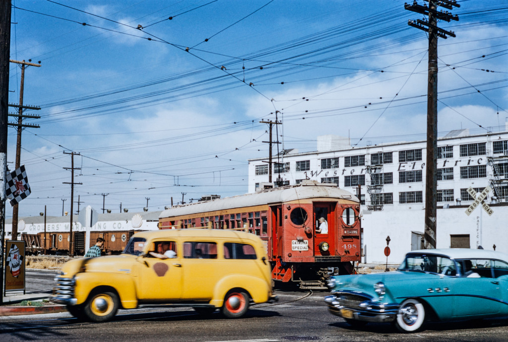 Bruce Ward Photograph, Pacific Electric Railway Historical Society Collection