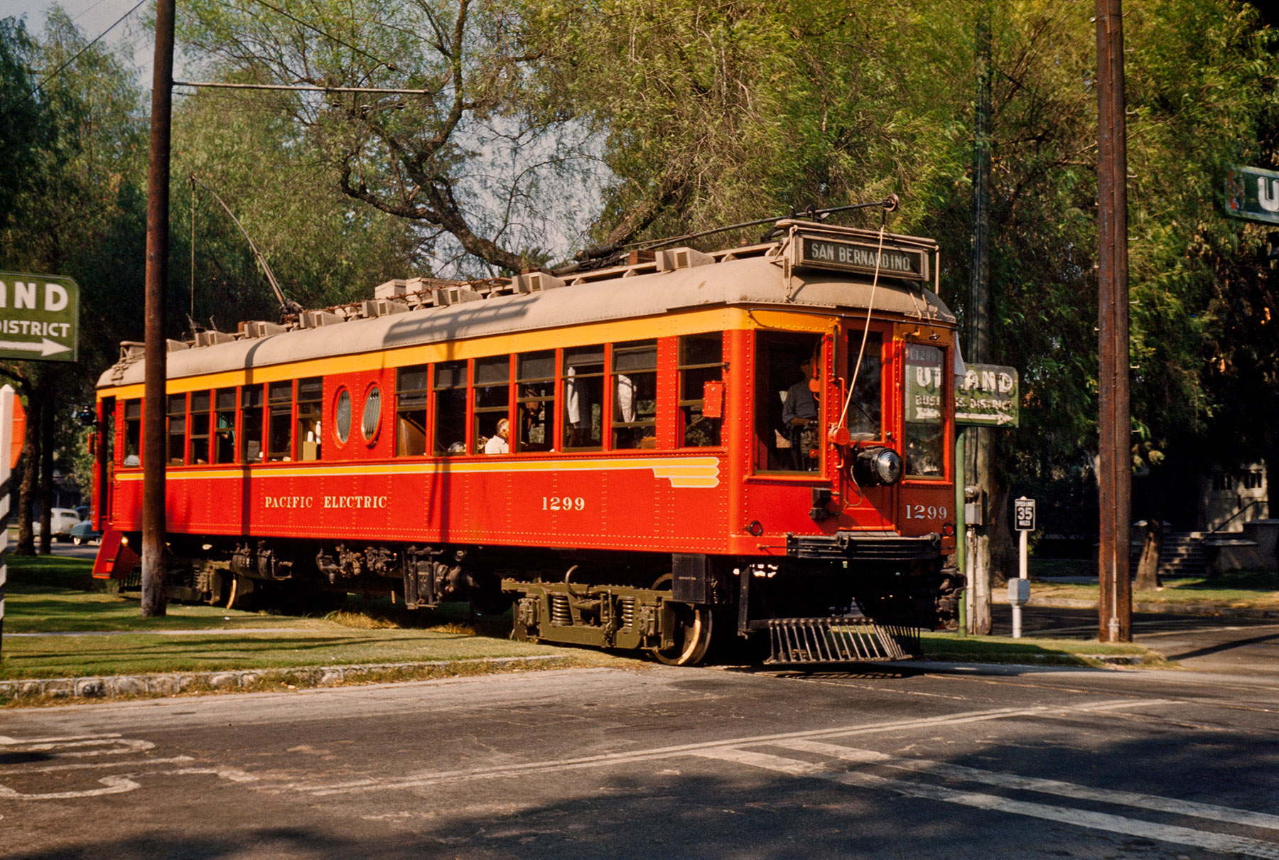 1299 in Upland - Pacific Electric Railway Historical Society