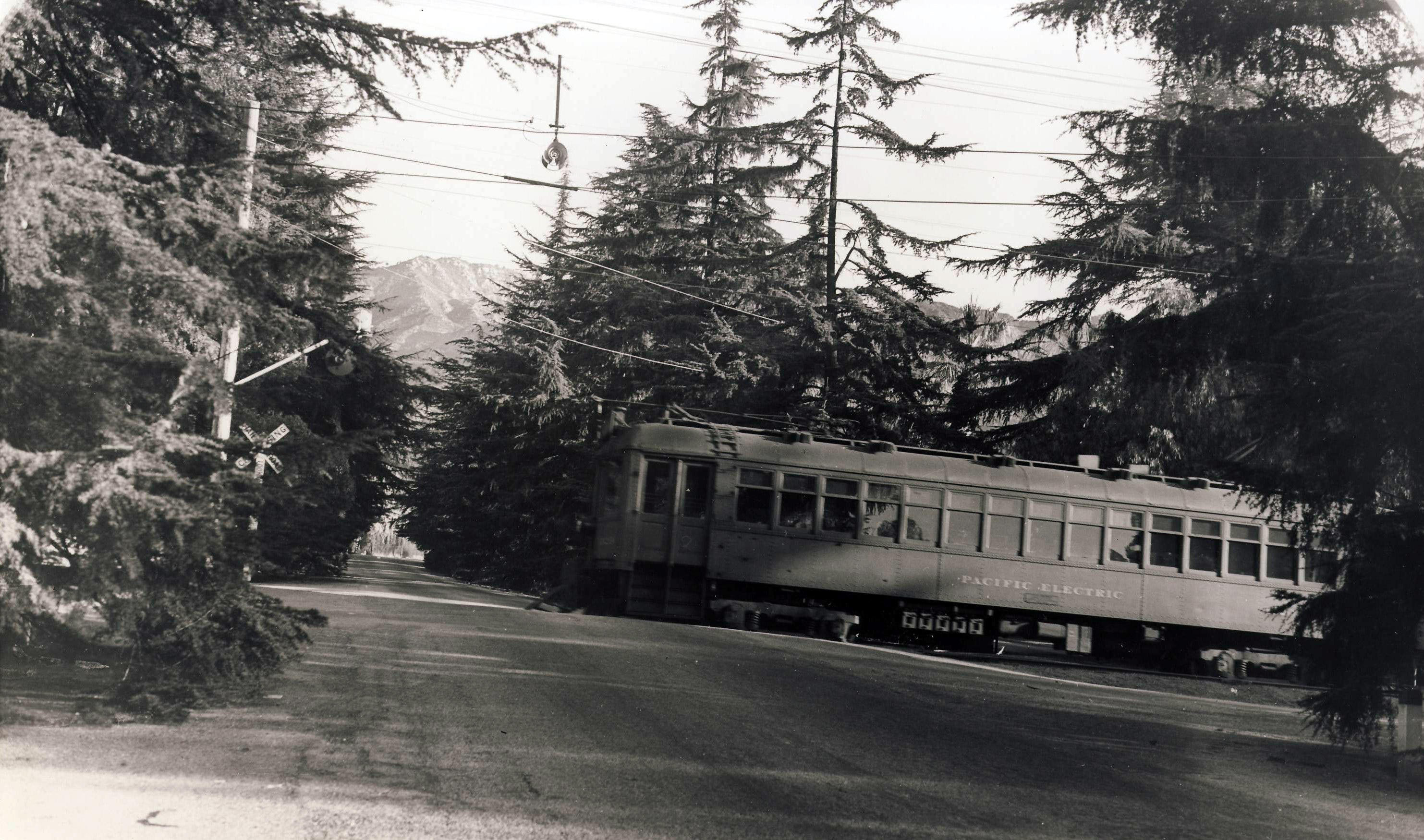 1123 At Christmas Tree Lane Pacific Electric Railway Historical