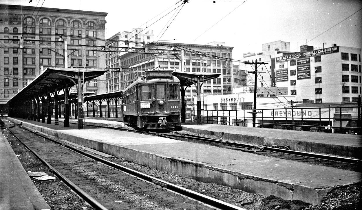 Pasadena Short Line, Main Street Station, September 30, 1950