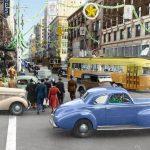 LARY no. 3029 at 7th & Grand, 1940