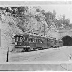 PE 614 at First and Hill Street in 1923