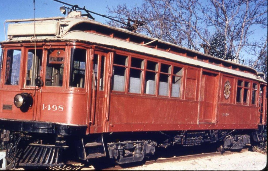 Here is the former *859 at Travel town in 1955. There she would sit, unprotected from the weather, for more than four decades.