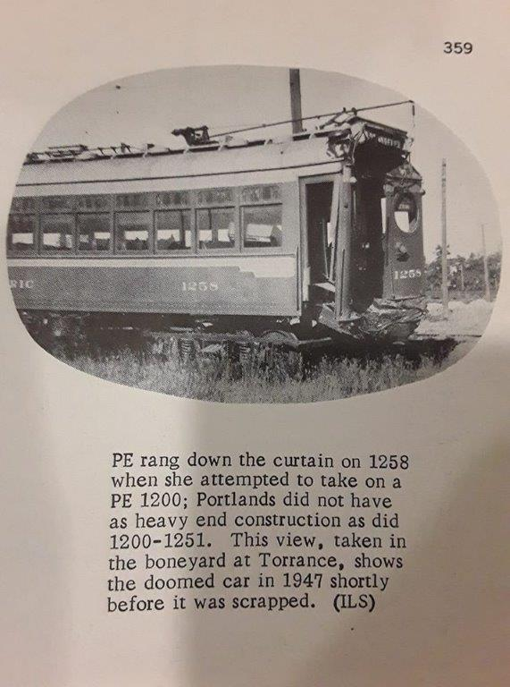 """This photo from the Ira Swett Collection, shows the 1258 at Torrance Shops awaiting """"scrapping."""""""