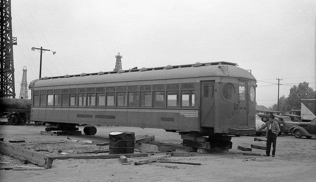 1258 Awaits Delivery; image courtesy Southern California Railway Museum.